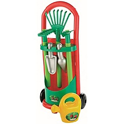 Ecoiffier - Rake and hoe trolley
