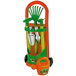 Ecoiffier - Garden trolley with accessories