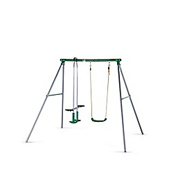 Plum - Helios II swing set