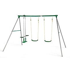 Plum - Jupiter swing set