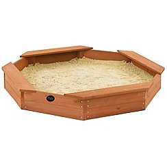 Plum - Treasure Beach Wooden Sand Pit