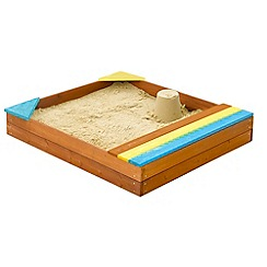 Plum - Outdoor Play Store-It Wooden Sand Pit