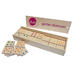 Plum - Garden Dominoes Set
