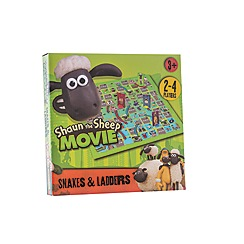 Shaun the Sheep - Shaun snakes and ladders