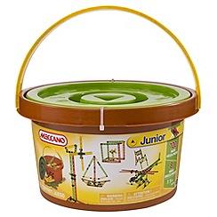 Meccano - Junior 100 Parts Bucket