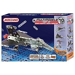Meccano - Multimodels 10 Model Set