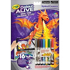 Crayola - Colour Alive Mythical Creatures