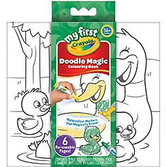 Crayola - My First Doodle Magic Colouring Book