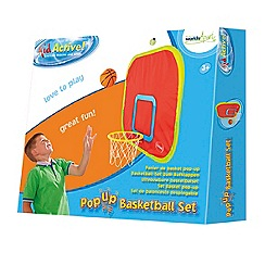 Worlds Apart - GetGo pop up basketball
