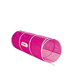 Worlds Apart - GETGO Pop Up Tunnel  - Pink