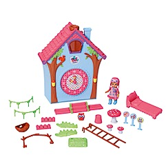 Mini Chou Chou - Birdies cuckoo clock house