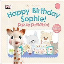Dorling Kindersley - Sophie La Girafe Pop-up Peekaboo Happy Birthday Sophie!