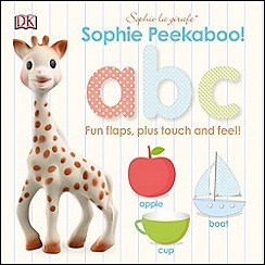 Dorling Kindersley - Sophie La Girafe Peekaboo ABC Board Book