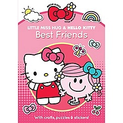 Little Miss - Little Miss Hug and Hello Kitty Best Friends Activity Book