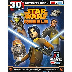 Star Wars - Rebels 3D Activity Book