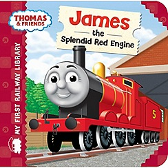 Thomas & Friends - My First Railway Library: James the Splendid Red Engine Book