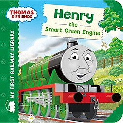 Thomas & Friends - My First Railway Library Henry the Smart Green Engine Book