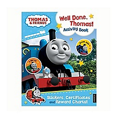 Thomas & Friends - Well Done Thomas Activity Book