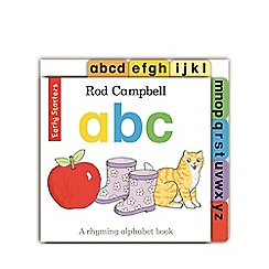 MacMillan books - Early Starters: ABC Book