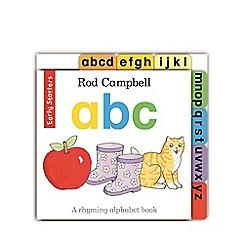 MacMillan books - Early Starters: ABC Book