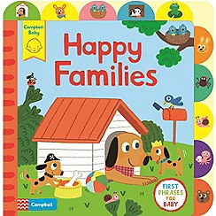 MacMillan books - Little Tabs Happy Families Book