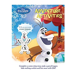 Disney Frozen - Adventure activities with Olaf eraser