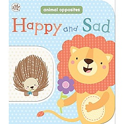 Little Learners - Happy and sad 2 in 1 board book