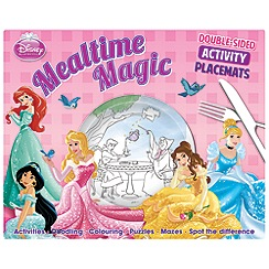 Disney Princess - Mealtime Magic activity placements