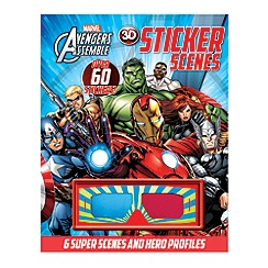 Marvel - Avengers assemble 3D sticker scenes