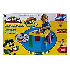 Play-Doh - Let's create table