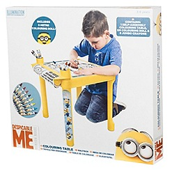 Despicable Me - Colouring Table