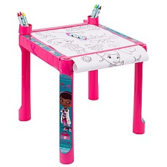 Doc McStuffins - Colouring table