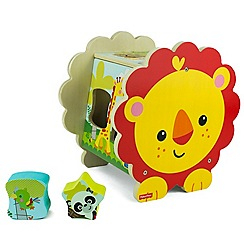 Fisher-Price - Lion shape sorter
