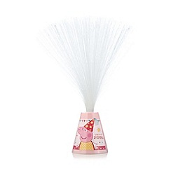 Peppa Pig - Colour changing 'Peppa Pig' fibre optic lamp