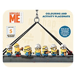 Despicable Me - Colouring & activity placemats