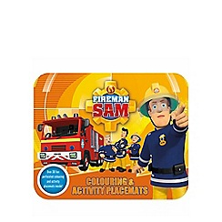 Fireman Sam - Colouring & activity placemats