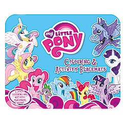 My Little Pony - Colouring & activity placemats