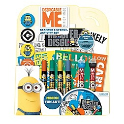 Despicable Me - Stamper & Stencil Set