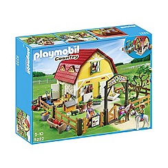 Playmobil - Childrens Pony Farm