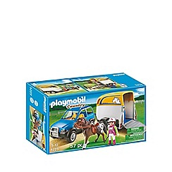 Playmobil - SUV with Horse Trailer