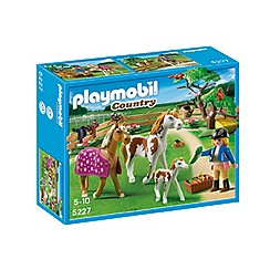 Playmobil - Paddock with Horses and Pony