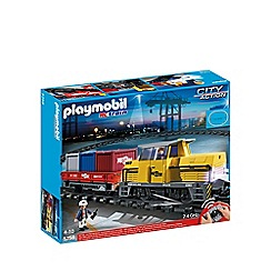 Playmobil - Remote control freight train