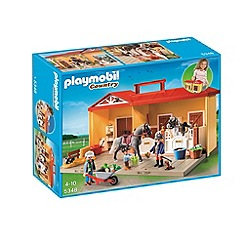 Playmobil - Take Along Horse Stable