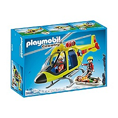 Playmobil - Mountain Rescue Helicopter