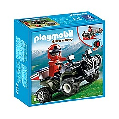 Playmobil - Mountain Rescue Quad