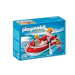 Playmobil - Swimmers with Dinghy
