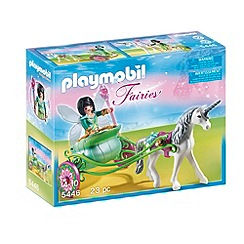 Playmobil - Unicorn Carriage with Butterfly Fairy