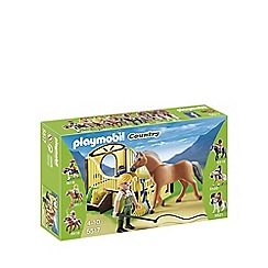 Playmobil - Work Horse with Stall