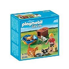 Playmobil - Cat Family with Basket
