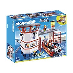 Playmobil - Coast Guard Station with Lighthouse